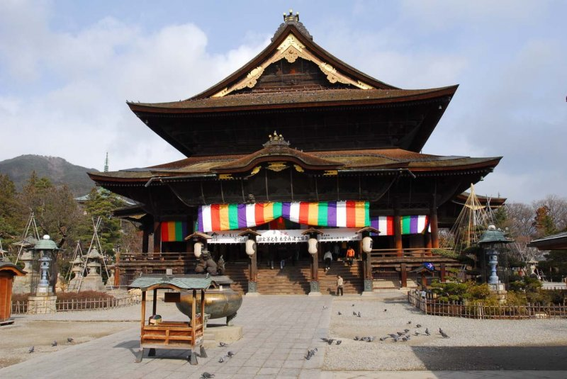 photo of Zenkoji Temple