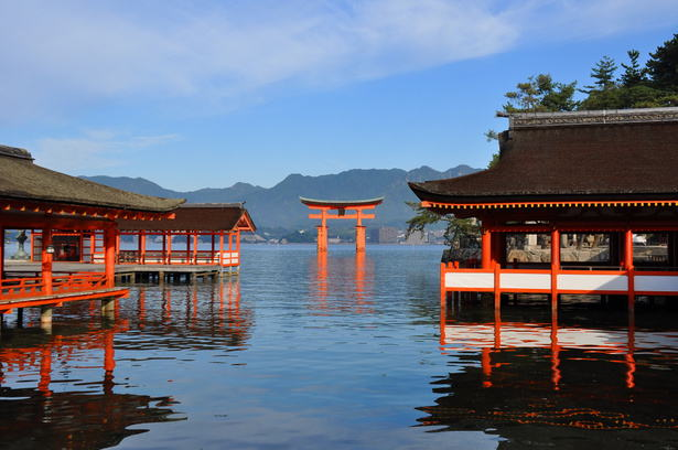 photo of Itsukushima Shrine