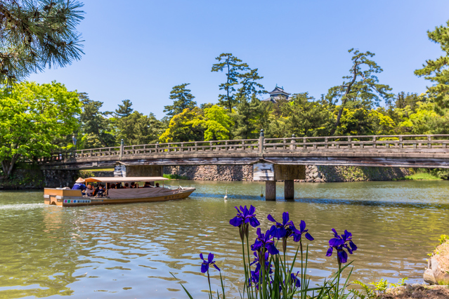 photo of Horikawa Moat Boat Cruise