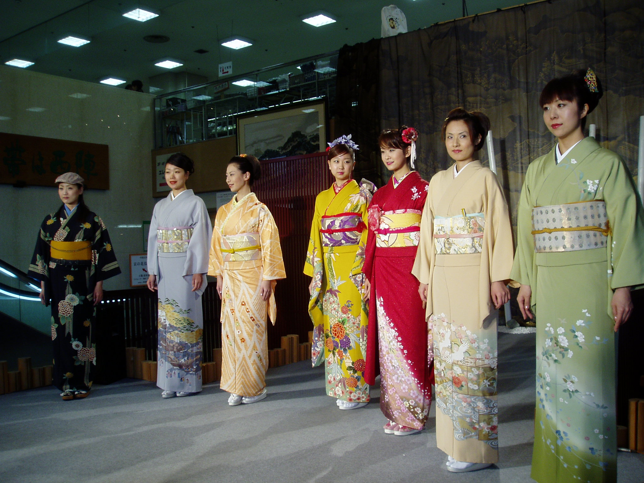 photo of Nishijin Textile Center - Kimono Show