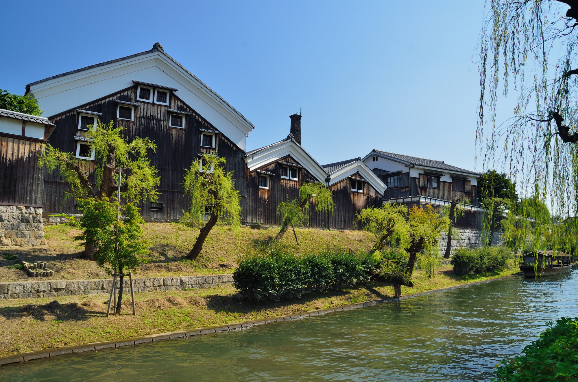 photo of Fushimi Sake District