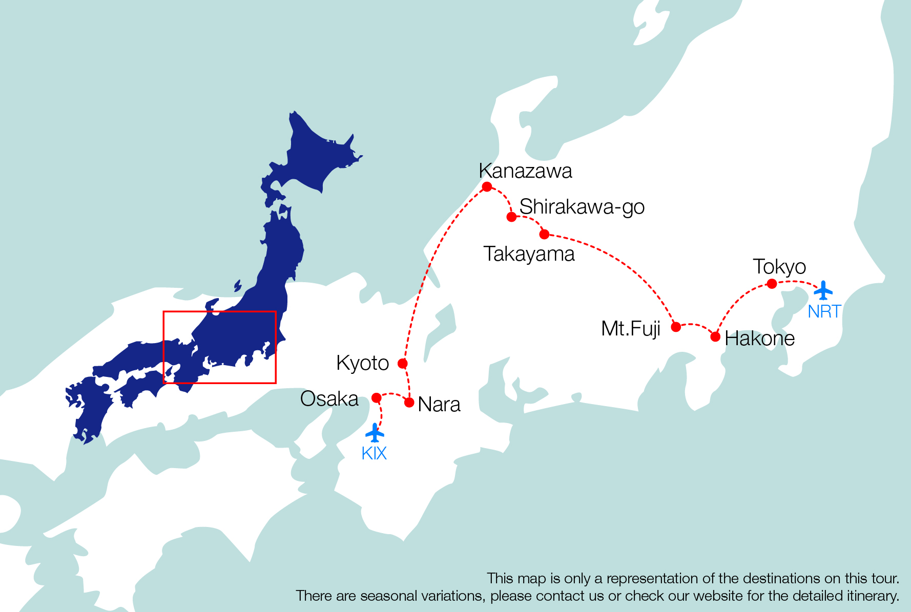 8 11 Days The Golden Triangle Of Japan Tour All Japan Tours
