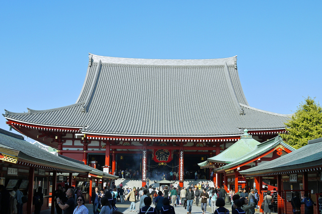 Asakusa Sensoji Temple & Nakamise District