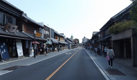 photo of Kawagoe Warehouse District