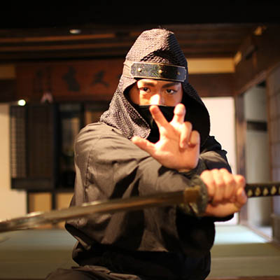 photo of Japanese ninja one