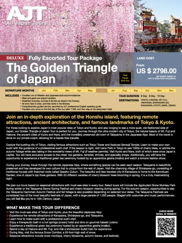 The Golden Triangle of Japan