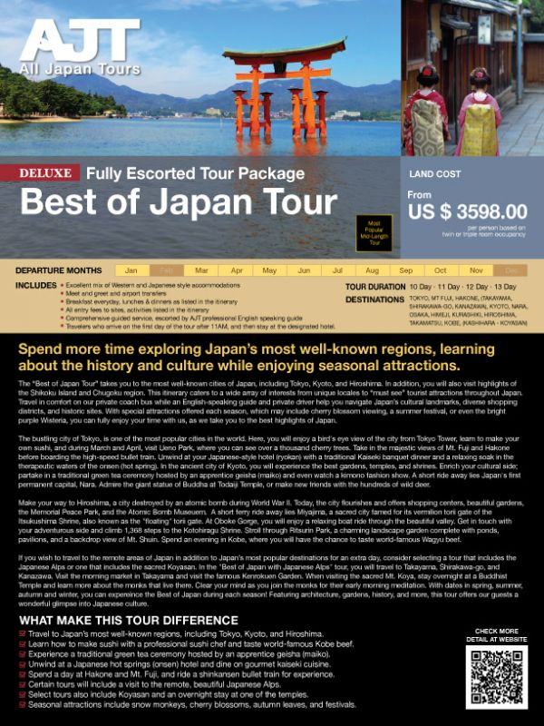 Best of Japan Tour