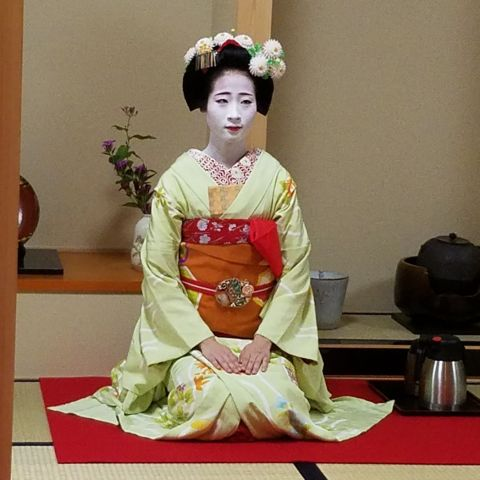 Green Tea Ceremony with Maiko