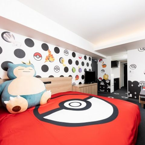 Pokémon Themed Rooms in Japan