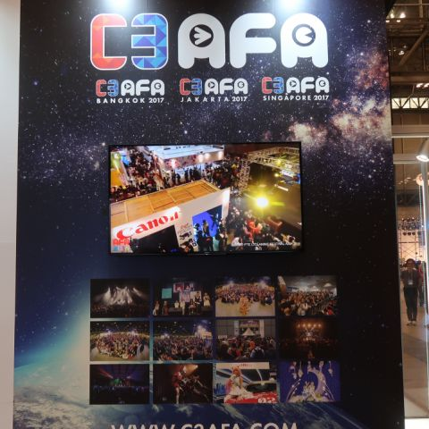 C3AFA: Figures, Gundams, and Performances