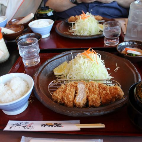 This Tonkatsu Set Meal was Magical