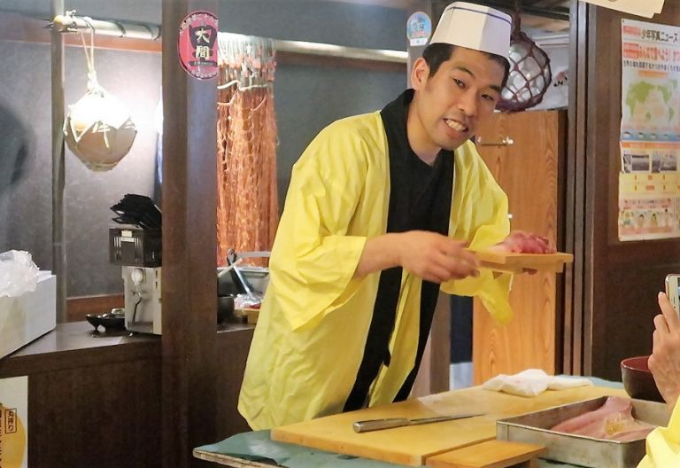 Sushi making class experience in Tokyo All Japan Tours
