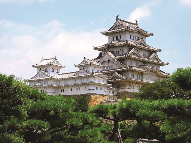 Himeji Castle White Heron UNESCO World Heritage Site