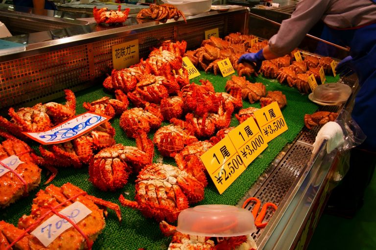Kushiro Washo Market; Things to Do in Hokkaido in Winter; All Japan Tours