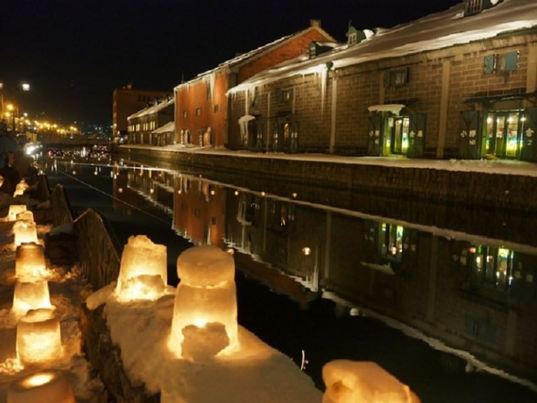 Otaru Snow Light Path Festival; Hokkaido; Best Time to Go to Japan; All Japan Tours; Japan Travel Blog