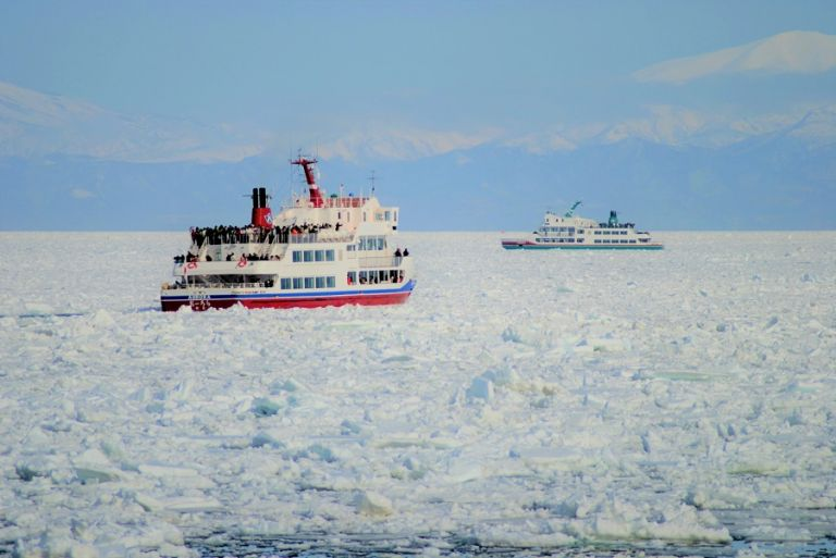 Abashiri Ice Breaker Cruise; Things to Do in Hokkaido in Winter; All Japan Tours