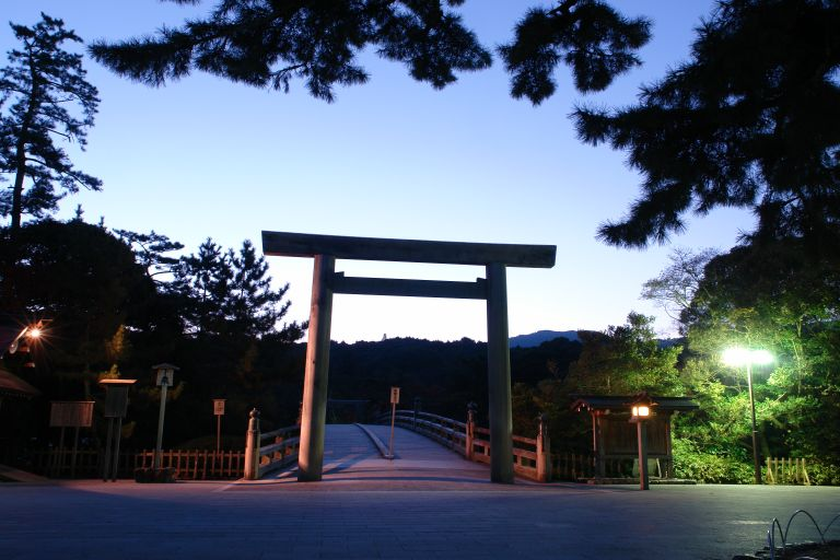 Ise Grande Shrine Torii Gate Mie Prefecture All Japan Tours