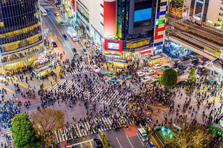 Shibuya Crossing; Tokyo; Where to Go in Japan; All Japan Tours; Japan Travel Blog