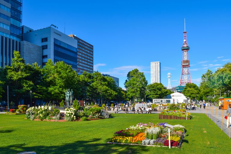 Odori Park; What to Do in Hokkaido in Summer; All Japan Tours