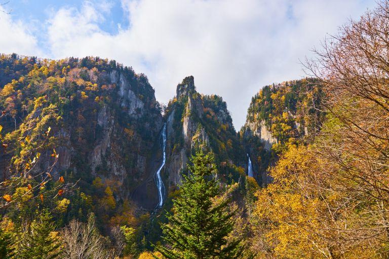 Ginga and Ryusei Waterfalls; What to Do in Hokkaido in Summer; All Japan Tours