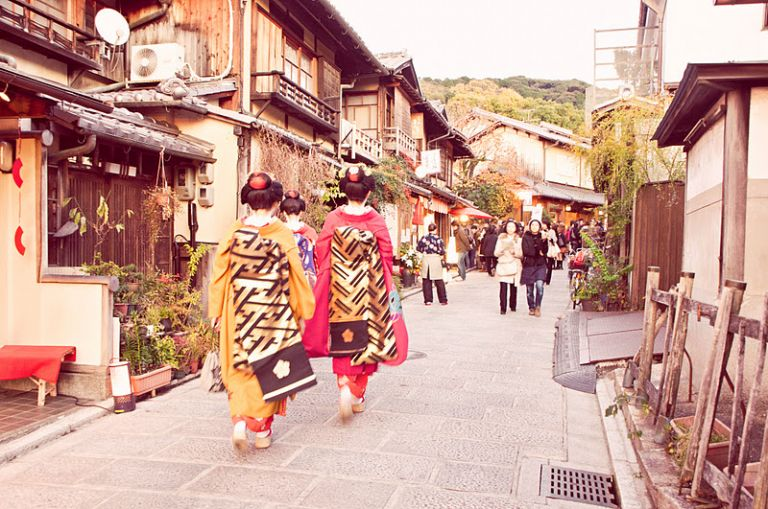 Gion Geisha District; Kyoto; Where to Go in Japan; All Japan Tours; Japan Travel Blog