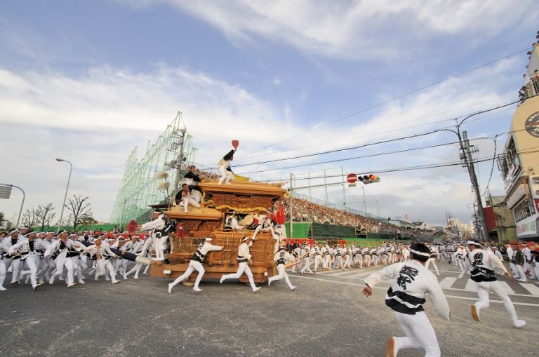 Kishiwada Danjiri Matsuri; OsakaBest Time to Go to Japan; All Japan Tours; Japan Travel Blog