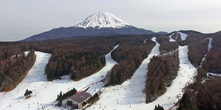 Mount Fuji; Fujiten Ski Resort; Where to Visit in Japan; All Japan Tours; Japan Travel Blog