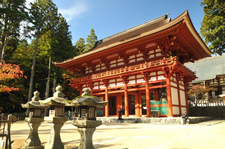Garan Temple Mt Koya Koyasan All Japan Tours