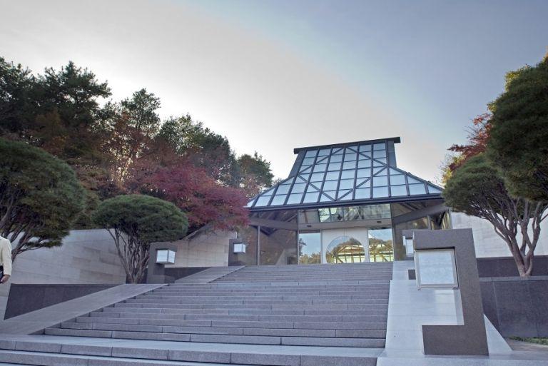 Miho Museum main building Koka Kyoto Prefecture