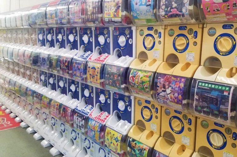 Gachapon Den Den Town Osaka Japan Travel Blog