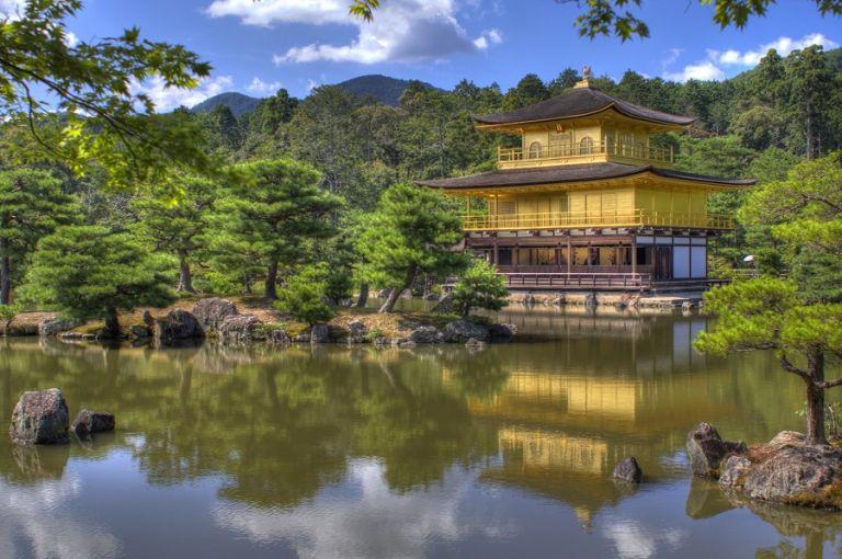 Kinkakuji Temple Golden Pavilion Kyoto Zen Buddhism Koi Pond