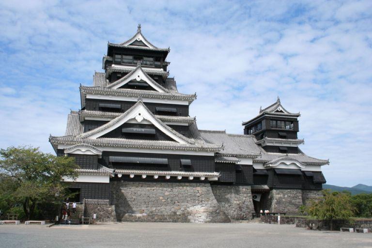 Japan Kyushu Kumamoto Prefecture Kumamoto Castle