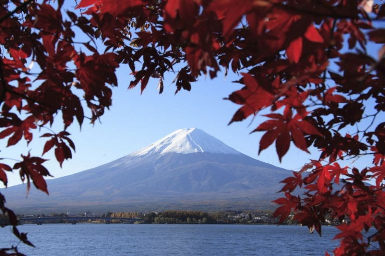 Mount Fuji; Autumn Leaves; Where to Visit in Japan; All Japan Tours; Japan Travel Blog