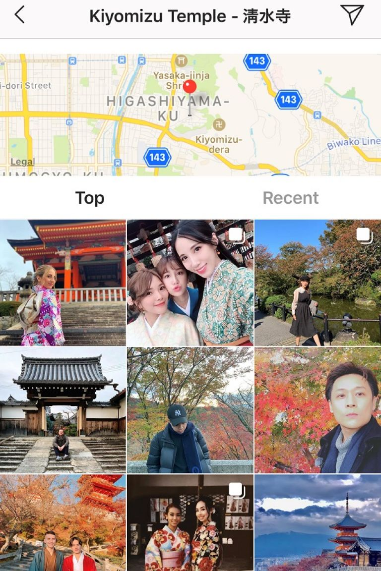 Kiyomizudera Temple; Autumn Leaves; Instagram; Best Apps for Visiting Japan; All Japan Tours; Japan Travel Blog;