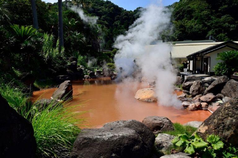 Japan Kyushu Oita Prefecture Beppu Hells hot spring