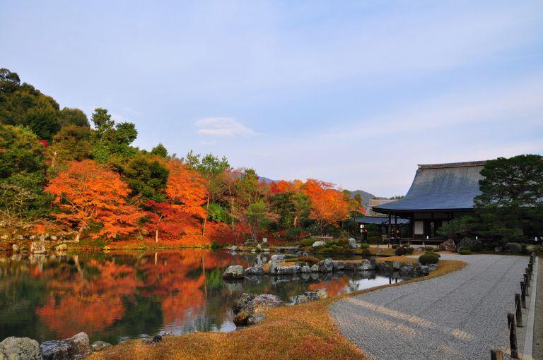 Tenryuji Temple Zen Rock Garden Arashiyama Kyoto All Japan Tours Autumn Leaves