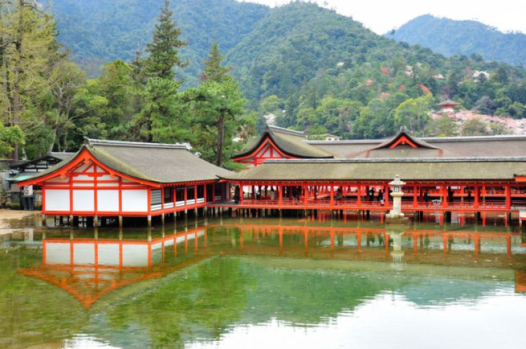 Itsukushima Shrine Miyajima Island Hiroshima Prefecture All Japan Tours