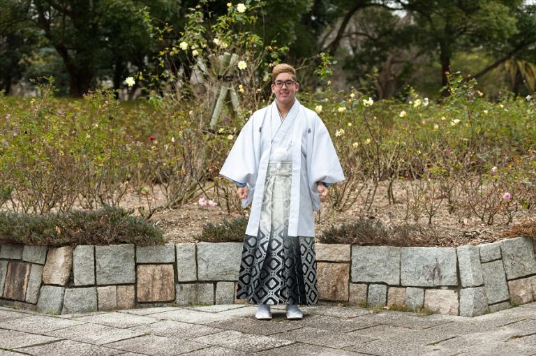 hakama kimono mens kimono man in kimono young man wearing a kimono coming of age ceremony what do kimono look like for men