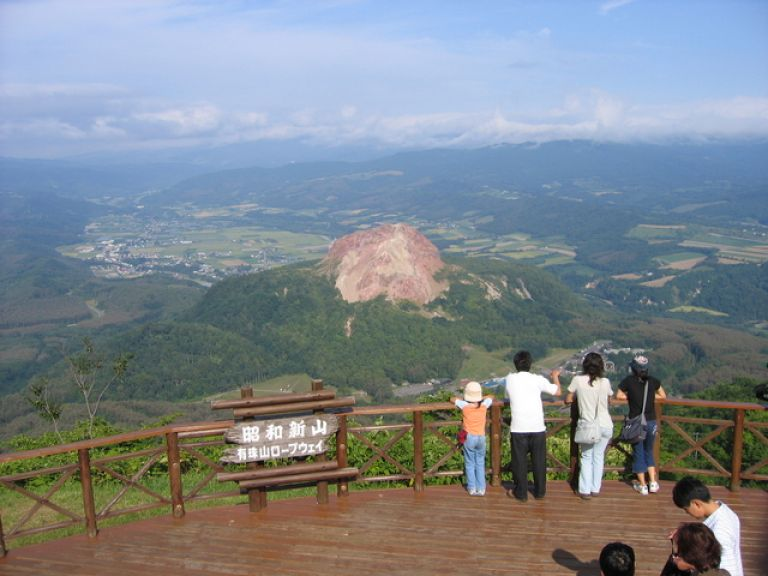 Mount Usu Ropeway; What to Do in Hokkaido in Summer; All Japan Tours