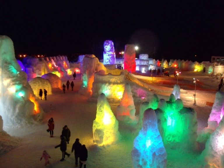 Lake Shikotsu Ice Festival; Things to Do in Hokkaido in Winter; All Japan Tours