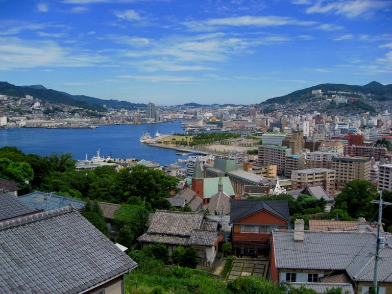 Japan Kyushu Nagasaki Prefecture Nagasaki Beach