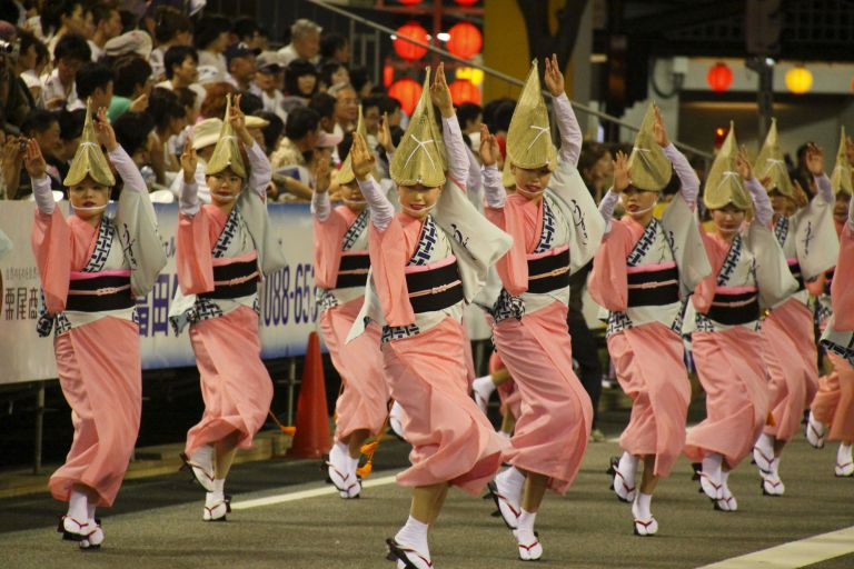 Awa Odori Festival; Tokushima; Best Time to Visit Japan; All Japan Tours; Japan Travel Blog