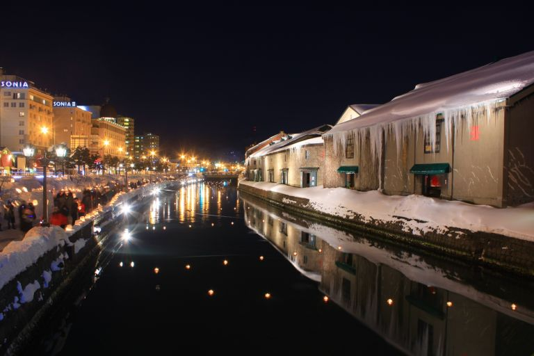 Otaru; Otaru Snow Light Path; Otaru Canal; Hokkaido; Where to Visit in Japan; All Japan Tours; Japan Travel Blog;