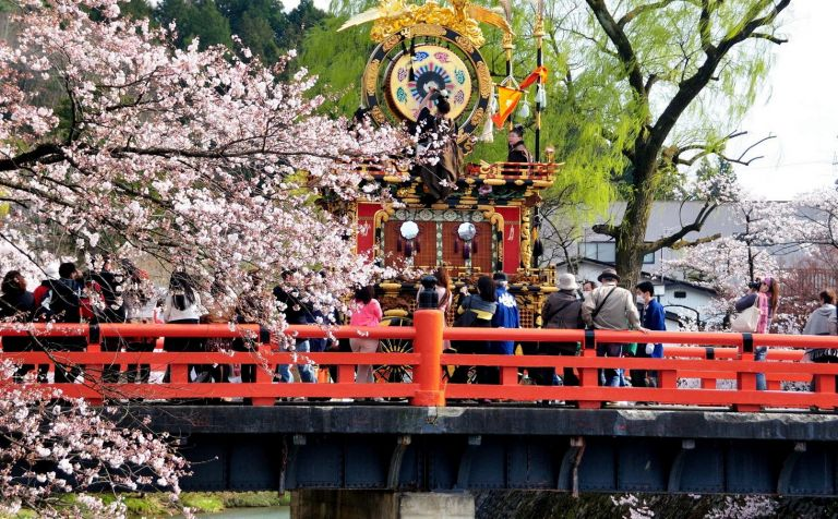 Takayama Sanno Spring Festival; Takayama Gifu Prefecture; Best Time to Go to Japan; All Japan Tours
