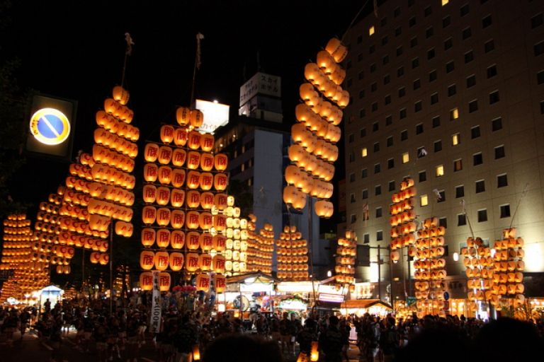 Akita Kanto Festival; Best Time to Go to Japan; All Japan Tours; Japan Travel Blog