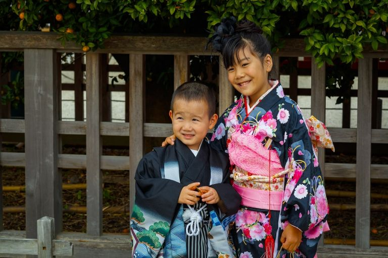 Shichi-Go-San Festival Festivals in Japan Japanese Festivals in November Things to Do in November Traditional Japanese Festivals Kimono Japanese People Japanese Children Japanese children in kimono Shinto Shrine Shintoism Thousand Year Candy