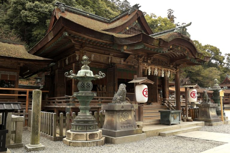 Kompirasan Shrine Kotohira Kagawa Prefecture All Japan Tours