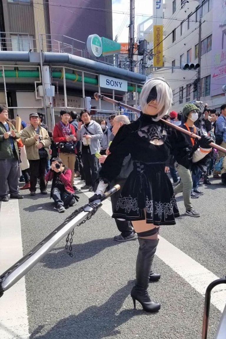 Japanese Cosplay Den Den Town Osaka Japan Travel Blog