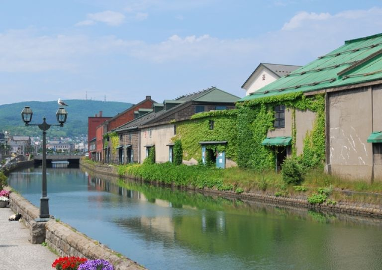 Otaru Canal; What to Do in Hokkaido in Summer; All Japan Tours