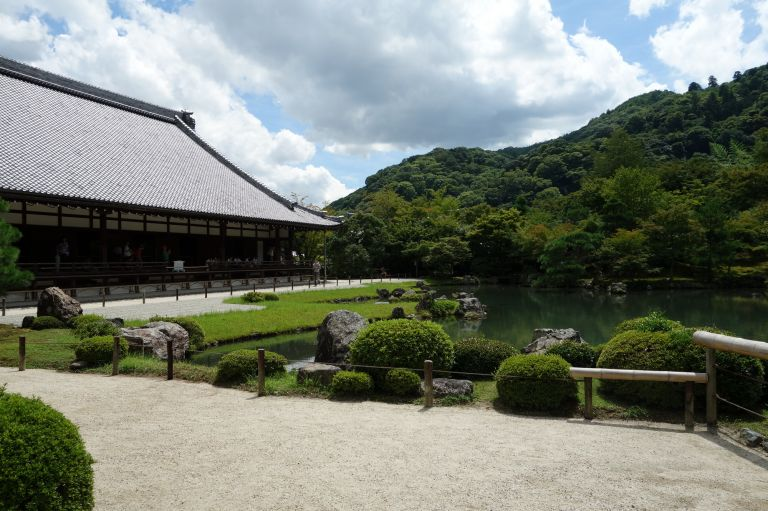 Tenryuji Temple; UNESCO World Heritage Site; Buddhist Temple; Zen Buddhism; Kyoto, Japan; All Japan Tours; Kyoto; Where to Go in Kyoto in Three Days; Best Kyoto Itinerary; Cherry Blossoms; Autumn Leaves; Cherry Blossom Season;